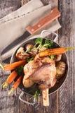 Cooked lamb chop Royalty Free Stock Photos