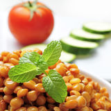 Cooked lentils Royalty Free Stock Photos