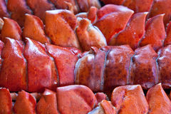Cooked Lobster Tails Stock Image
