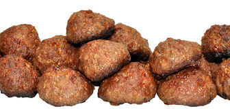 Cooked Meat Balls Stock Photo