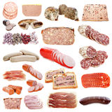 Cooked meats Royalty Free Stock Image