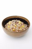 Cooked mixed rice Royalty Free Stock Image
