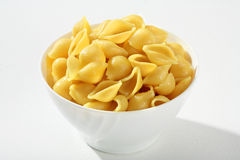 Cooked pasta shells Stock Photography