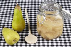 Cooked pears Royalty Free Stock Photo