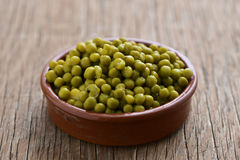 Cooked peas Stock Images