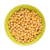 Cooked and peeled chickpeas Royalty Free Stock Photos