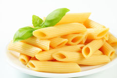 Cooked penne pasta Royalty Free Stock Images