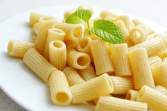 Cooked penne rigate Stock Image