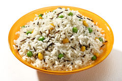 Cooked pilaf rice Royalty Free Stock Photos