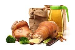 Cooked pork (leg) Royalty Free Stock Image