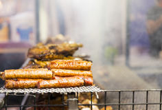 Cooked pork and prepared Royalty Free Stock Photos