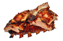 Cooked Pork Ribs Royalty Free Stock Image
