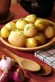Cooked potato Royalty Free Stock Images