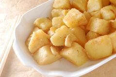 Cooked potato Stock Image