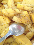 Cooked potatoes Stock Photo