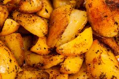 Cooked potatoes Stock Image