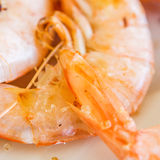 Cooked prawns Royalty Free Stock Photo