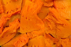 Cooked pumpkin Stock Photography