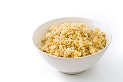 Cooked quinoa stock image