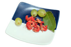 Cooked rapana (shrimp) Royalty Free Stock Photo
