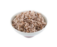 Cooked red rice Stock Image
