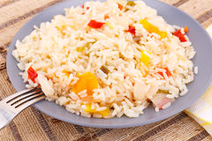Cooked rice Stock Images