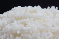 Cooked rice closeup Royalty Free Stock Photo
