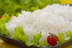 Cooked rice with vegetables Royalty Free Stock Photography