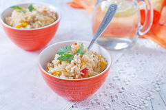 Cooked rice Stock Image