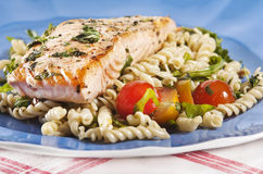 Cooked salmon Royalty Free Stock Photos