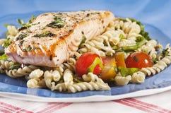 Cooked salmon Royalty Free Stock Photos