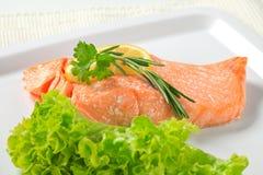 Cooked salmon Stock Photos