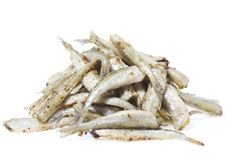 Cooked small fish Stock Image