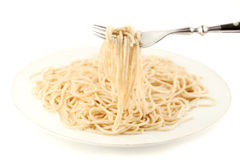 Cooked spaghetti Royalty Free Stock Image