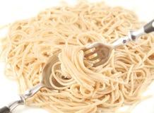 Cooked spaghetti Stock Photo