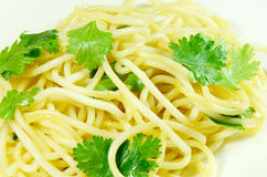 Cooked Spaghetti. Royalty Free Stock Photography