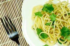 Cooked Spaghetti. Stock Photos