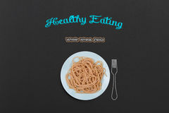 Cooked Spaghetti Royalty Free Stock Images