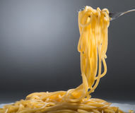 Cooked spaghetti Stock Image