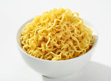 Cooked spaghetti Royalty Free Stock Photography