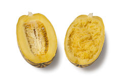 Cooked spaghetti squash Stock Images