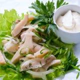 Cooked squid Stock Photo