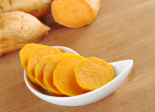 Cooked Sweet Potato Royalty Free Stock Image