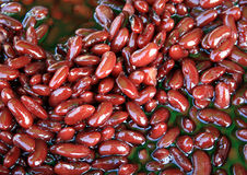Cooked sweet red beans. For background Royalty Free Stock Photography