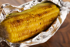 Cooked sweetcorn Royalty Free Stock Photography