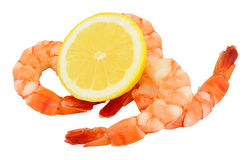 Cooked Tiger Prawns Stock Photography
