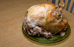 Cooked Turkey royalty free stock image