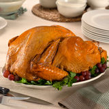 Cooked Turkey Royalty Free Stock Photo