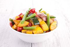 Cooked vegetable Royalty Free Stock Image