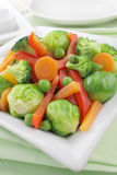 Cooked vegetables Stock Photos